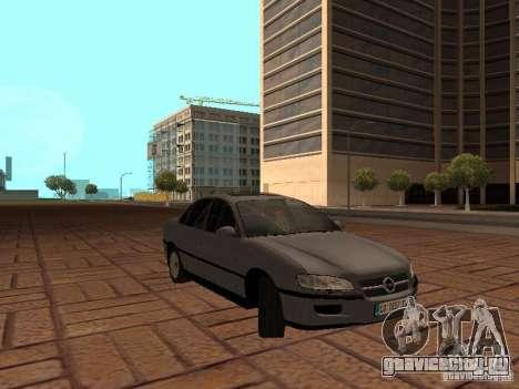 Opel Omega B 1998 v2 для GTA San Andreas вид сзади