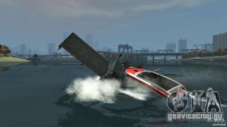 Biff boat для GTA 4 вид сбоку