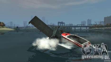 Biff boat для GTA 4 вид сбоку