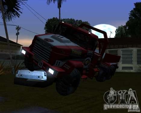 КрАЗ 6322 Триал для GTA San Andreas вид сзади