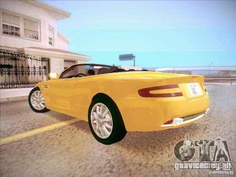 Aston Martin DB9 Volante v.1.0 для GTA San Andreas вид слева