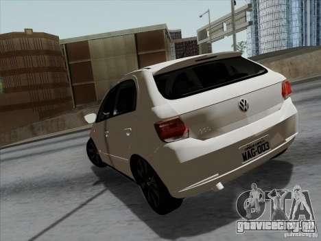 Volkswagen Golf G6 v3 для GTA San Andreas вид сзади слева