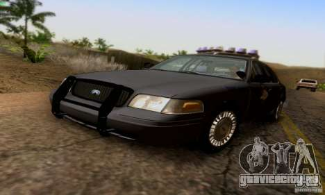Ford Crown Victoria Kentucky Police для GTA San Andreas