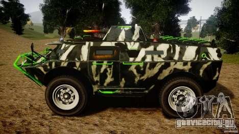 Monster APC для GTA 4 вид слева