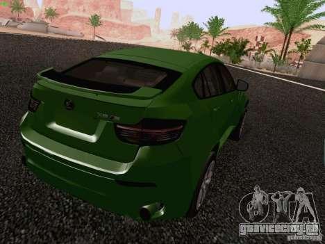 BMW X6 LT для GTA San Andreas вид слева