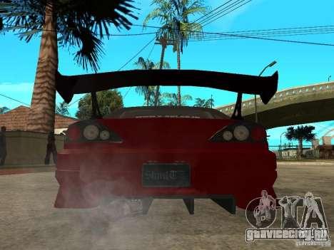 Nissan Silvia S-15 для GTA San Andreas вид сзади слева
