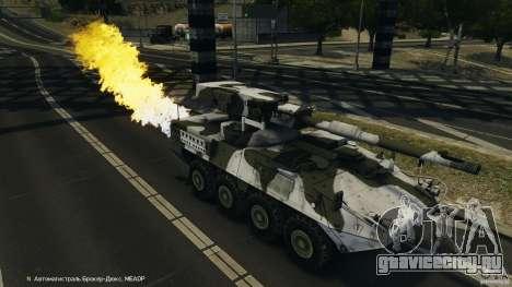 Stryker M1128 Mobile Gun System v1.0 для GTA 4 салон