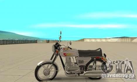 Ява 350 для GTA San Andreas вид слева
