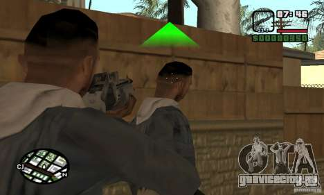 Franchi Special Purpose Automatic Shotgun 12 для GTA San Andreas третий скриншот