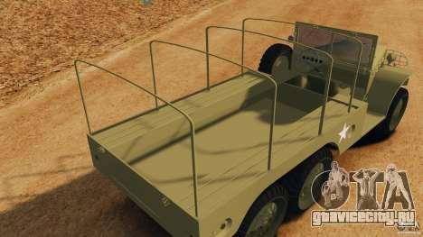 Dodge WC-62 3 Truck для GTA 4 вид снизу