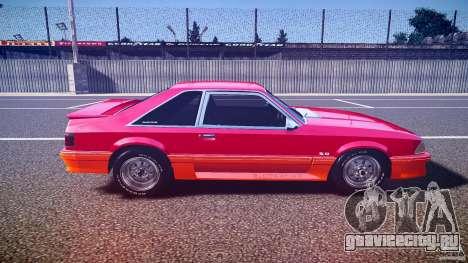 Ford Mustang GT 1993 Rims 2 для GTA 4 вид изнутри