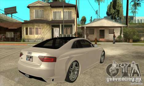 Audi S5 Quattro Tuning для GTA San Andreas вид справа