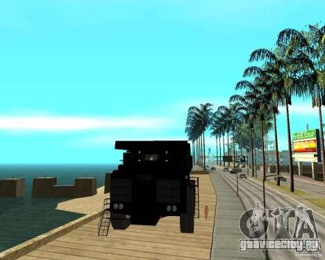 Dumper для GTA San Andreas вид сзади