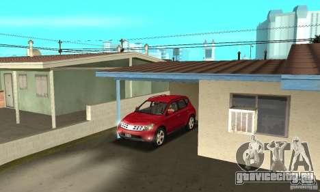 Nissan Murano 2004 для GTA San Andreas вид сбоку