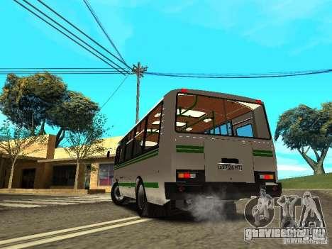ПАЗ 32053 для GTA San Andreas вид сбоку