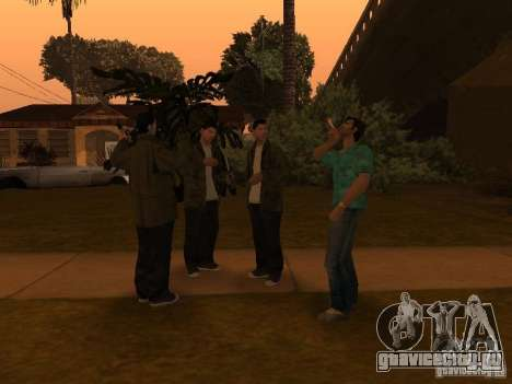 Los Santos Protagonists для GTA San Andreas четвёртый скриншот