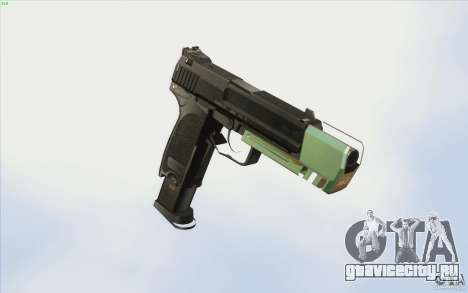 Low Chrome Weapon Pack для GTA San Andreas