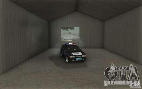 ВАЗ 2114 ДПС для GTA San Andreas