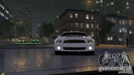 Ford Shelby Mustang GT500 2011 v2.0 для GTA 4 вид слева