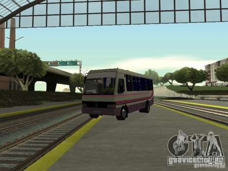 Баз а079 турист для GTA San Andreas вид сзади