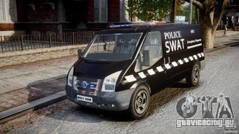 Ford Transit SWAT [ELS] для GTA 4