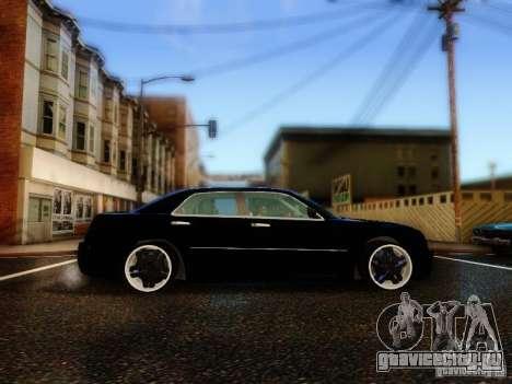 Chrysler 300C VIP для GTA San Andreas вид изнутри