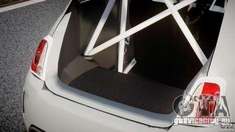 Fiat 500 Abarth для GTA 4 салон