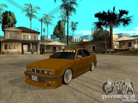 BMW e34 Drift Body для GTA San Andreas