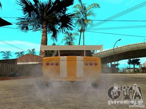 ВАЗ 2101 Globus для GTA San Andreas вид сзади слева