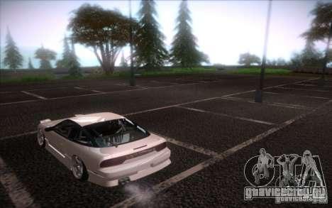 Nissan 240SX DriftMonkey для GTA San Andreas вид слева