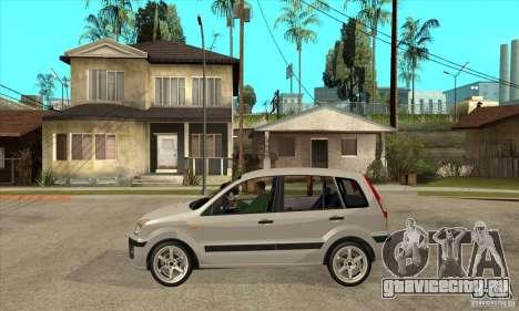 Ford Fusion 2009 для GTA San Andreas вид слева
