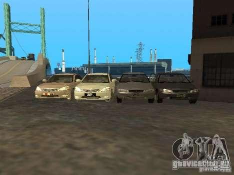 Toyota Camry 2003 для GTA San Andreas вид сбоку