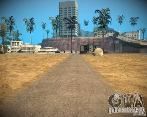 New textures beach of Santa Maria для GTA San Andreas десятый скриншот
