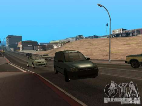 Opel Combo 2005 для GTA San Andreas вид слева