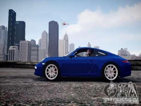 Porsche 911 Carrera S 2012 для GTA 4 вид слева