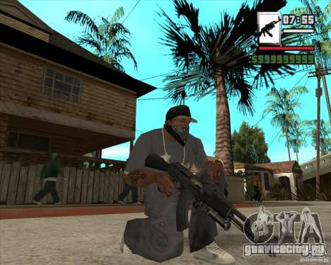 AK47 with GP-30 для GTA San Andreas третий скриншот