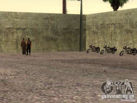 Реалистичная школа байкеров V1.0 для GTA San Andreas пятый скриншот