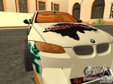 BMW M3 E92 DriftRoots для GTA San Andreas вид справа