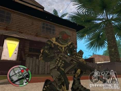 Сборник оружий Crysis 2 для GTA San Andreas седьмой скриншот