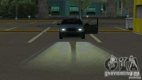 Галогенные фары для GTA San Andreas третий скриншот