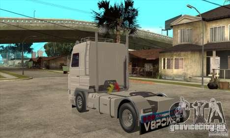 Scania 143M 500 V8 для GTA San Andreas вид сзади слева
