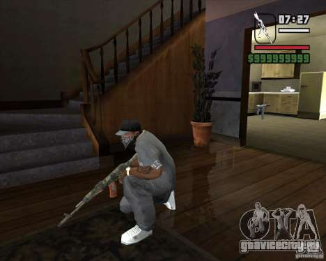 Калаш из МЕТРО 2033 для GTA San Andreas третий скриншот