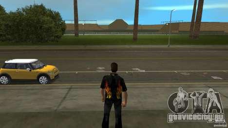 Mr. Fire с чёрними джинсами для GTA Vice City второй скриншот