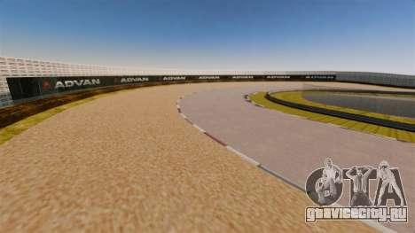 Tsukuba Circuit v3.0 для GTA 4 третий скриншот