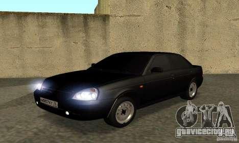 Lada 2170 Priora Pnevmo для GTA San Andreas
