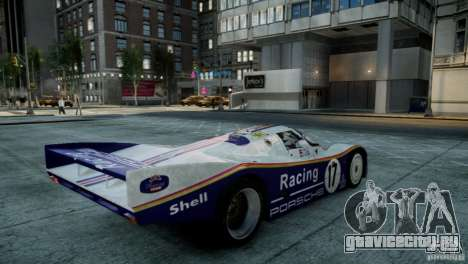 Porsche 962 для GTA 4