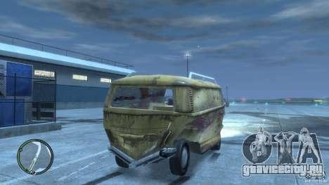 VW Transporter T2 для GTA 4 вид сверху