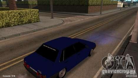 BАЗ 21099 для GTA San Andreas вид справа