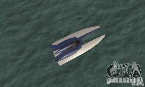 Powerboat для GTA San Andreas вид справа