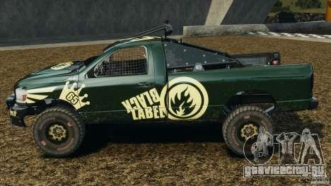 Dodge Power Wagon для GTA 4 вид слева